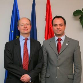 Találkozó a brit kormány üzleti innovációért felelős főigazgatójával