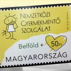 Karitatív célú bélyegkibocsátás a gyermekekért