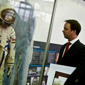 50 éve járt először ember az űrben - díszbélyegzés
