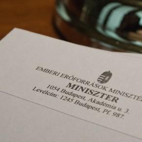 Miniszterelnöki biztos az Emberi Erőforrások Minisztériumában