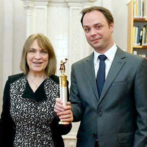 A Kossuth-díjas Kovács Katit köszöntötték Egerben