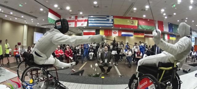 Egerben lesz jövőre a kerekesszékes vívó-világbajnokság
