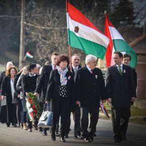 Nyitrai Zsolt közös fejlesztésekre hívott mindenkit a nemzeti ünnepen