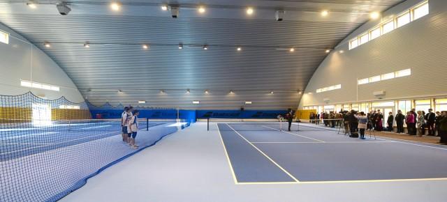A régió legmodernebb teniszcsarnoka Egerben