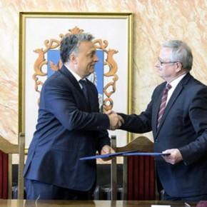 Orbán: 2018-ra négysávos autóút köti össze Egert az M3-assal