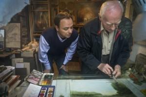 Látogatás Nagy Ernő festőművésznél
