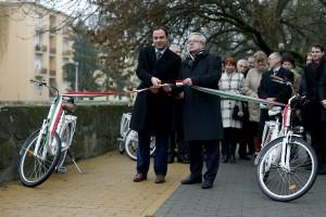 Elkészült a kerékpárút