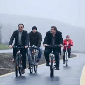 Felavatták Egerszalókon az új kerékpárutat