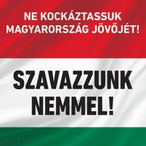 A népszavazáson Magyarország jövője a tét