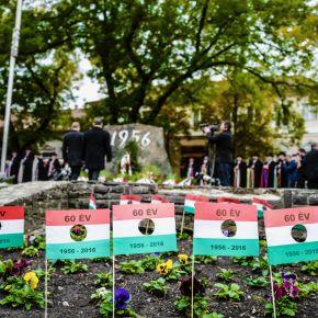 '56-os megemlékezések: Büszkeségpontokat avattak az ünnepen