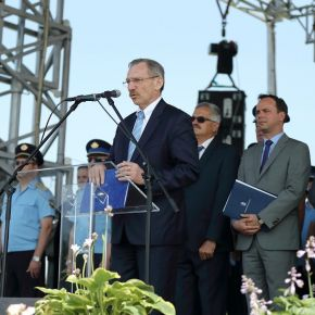 Nyitrai Zsolt a miniszterelnök üzenetét tolmácsolta a polgárőr napon