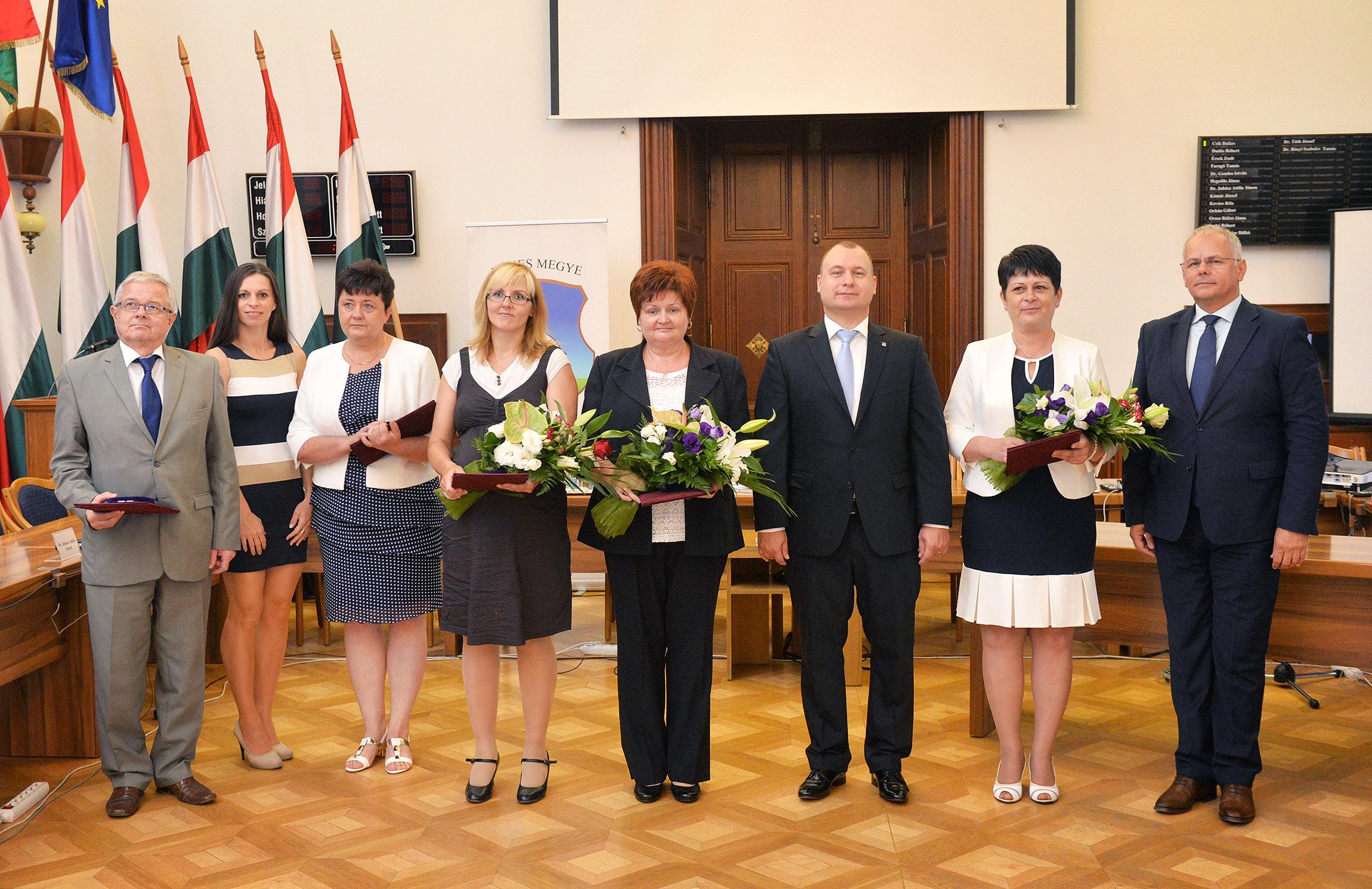 Habis Lászlót díjazták a Telekessy István területfejlesztési kitüntető díjjal