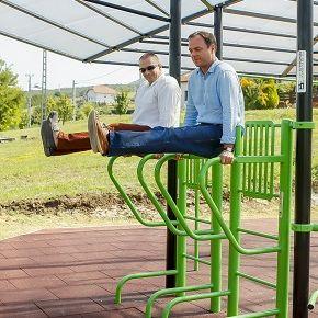 Új sportpark Felsőtárkányban
