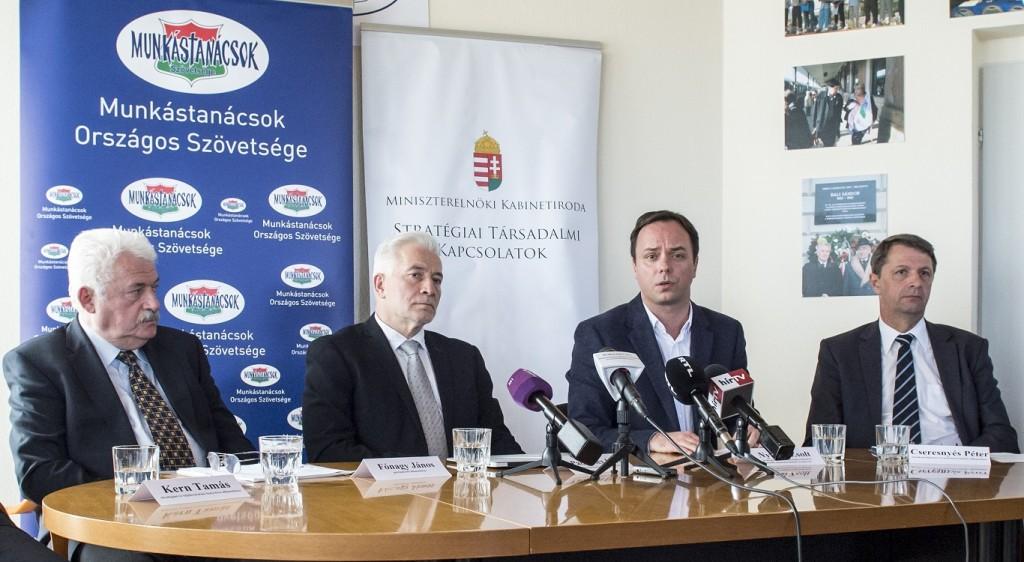 A Munkástanácsok a kormány stratégiai partnere lesz