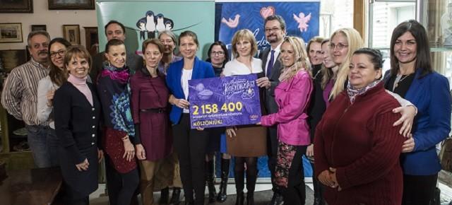 Több mint kétmillió forint gyűlt össze a családszervezetek jótékonysági vásárán