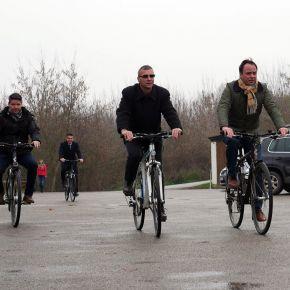 Megépül a kerékpárút Poroszló és Tiszafüred között