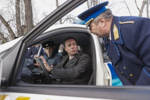 Rendőrautók átvétele