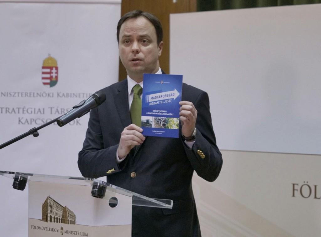 A magyar mezőgazdaság Európa egyik leggyorsabban fejlődő agráriuma