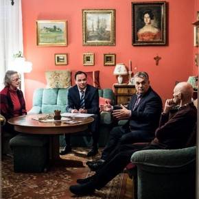 Orbán Viktor ajánlásokat gyűjtött Nyitrai Zsoltnak Egerben!
