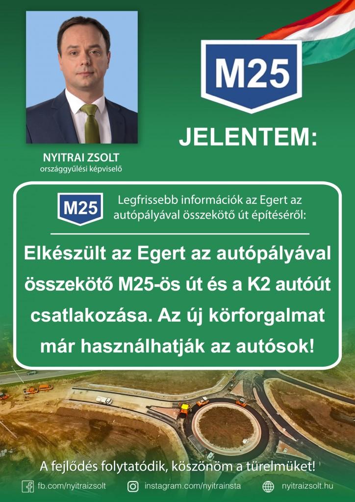 M25: újabb mérföldkő, elkészült a K2-es út körforgalma