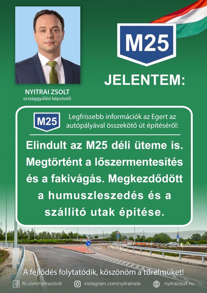 M25: elindult az összekötőút déli üteme is