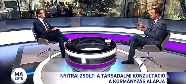Nyitrai Zsolt: a társadalmi konzultáció a kormányzás alapja
