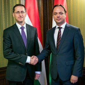 Nyitrai Zsolt a pénzügyminiszterrel egyeztetett