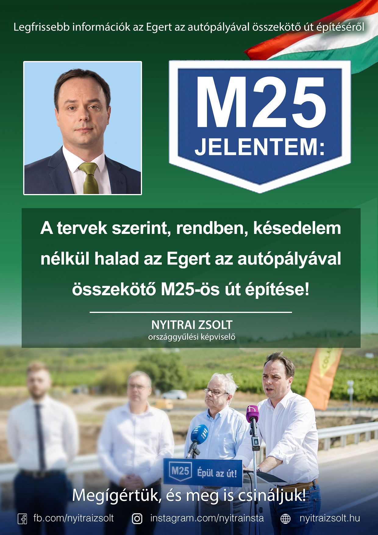 M25: tervek szerint halad az M25-ös építése