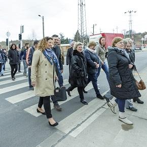 Egri dolgozók kérték: új gyalogátkelő a Sas úton