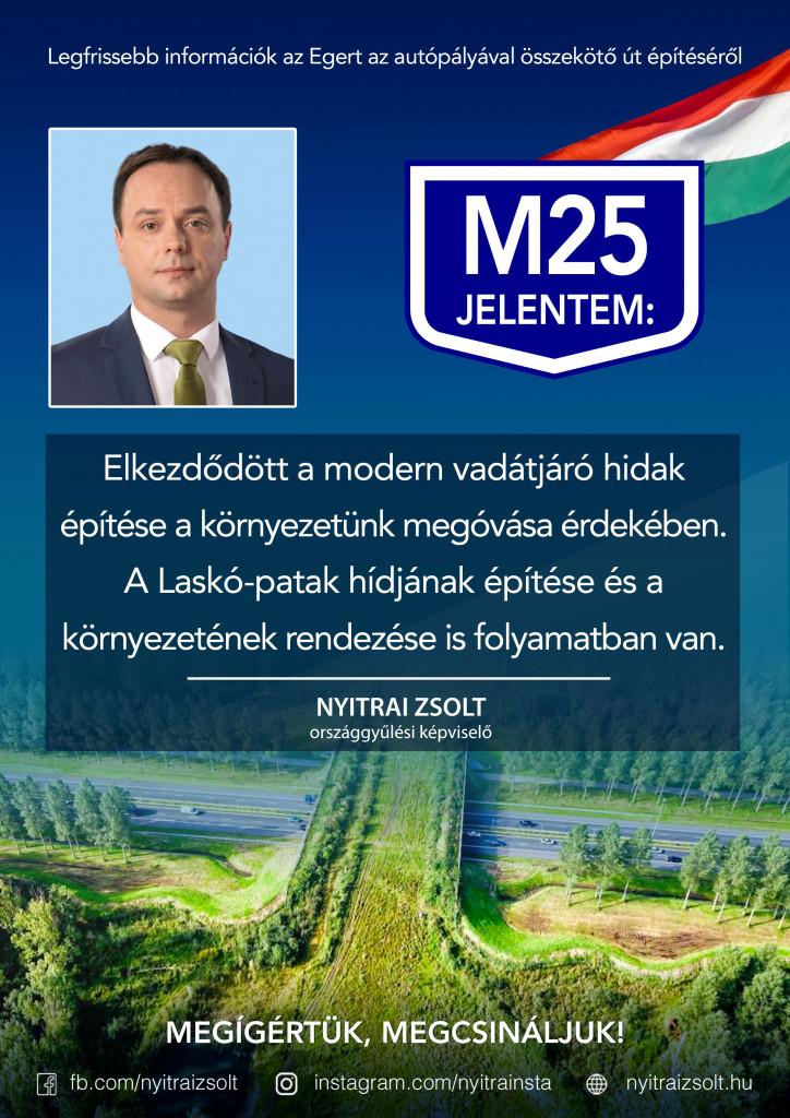 M25: Megóvjuk környezetünket!